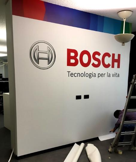 Branding - Pellicola - Bosch