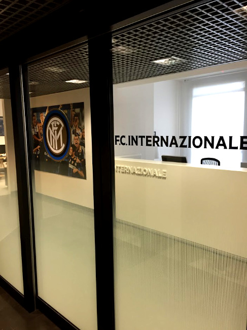 Branding - Vetrofanie - F.C. Internazionale