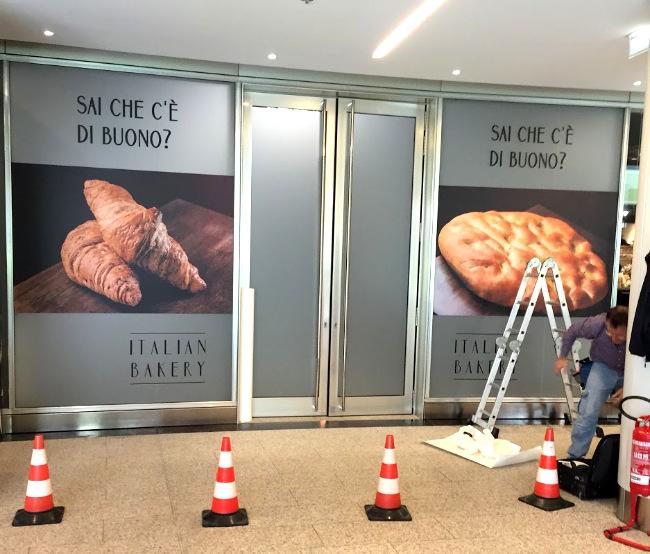 Branding - Vetrofanie - Italian Backery