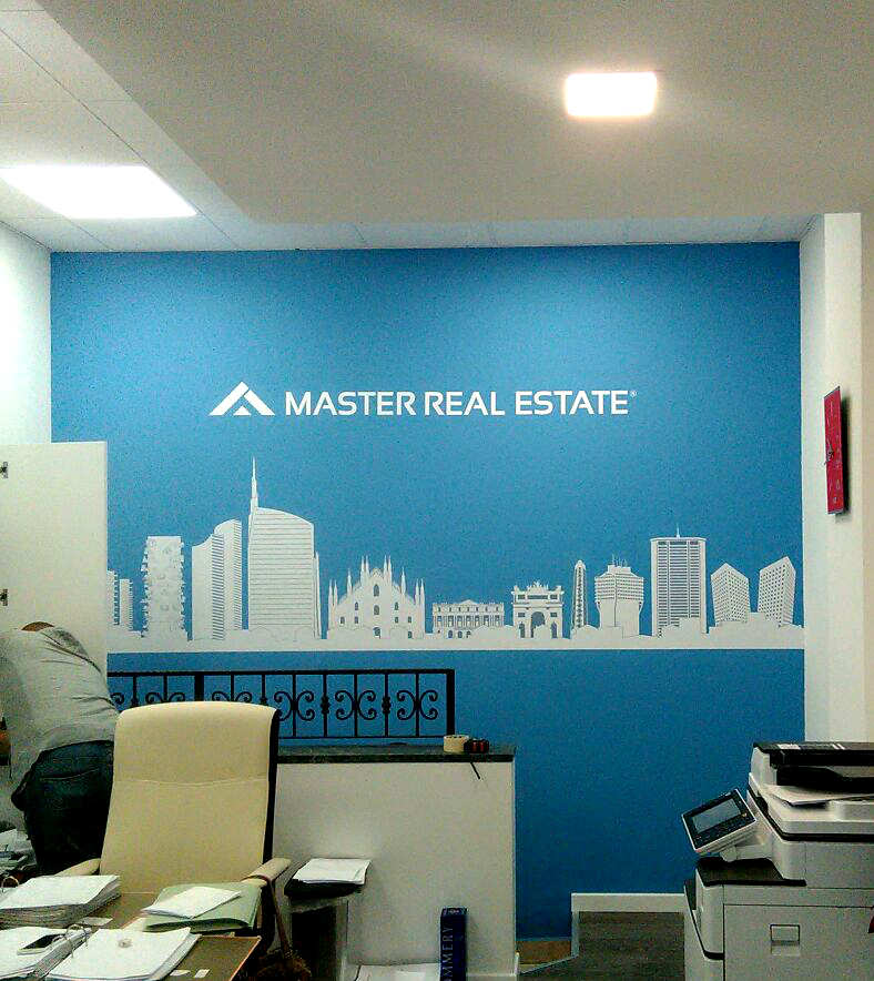 Branding - pellicole - Master real estate