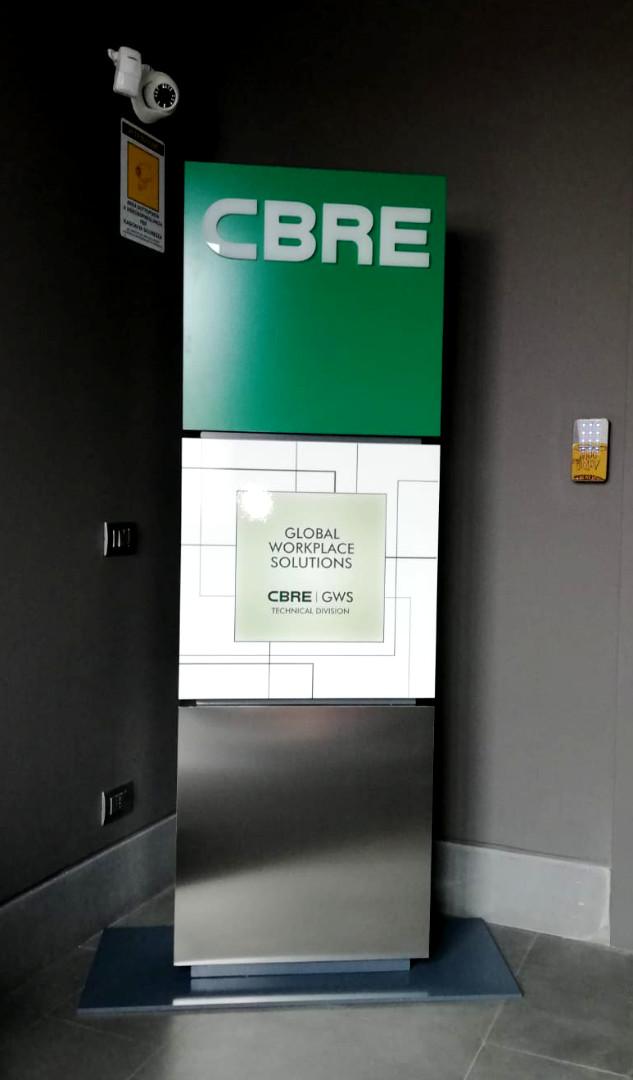 Insegne - CBRE - Totem