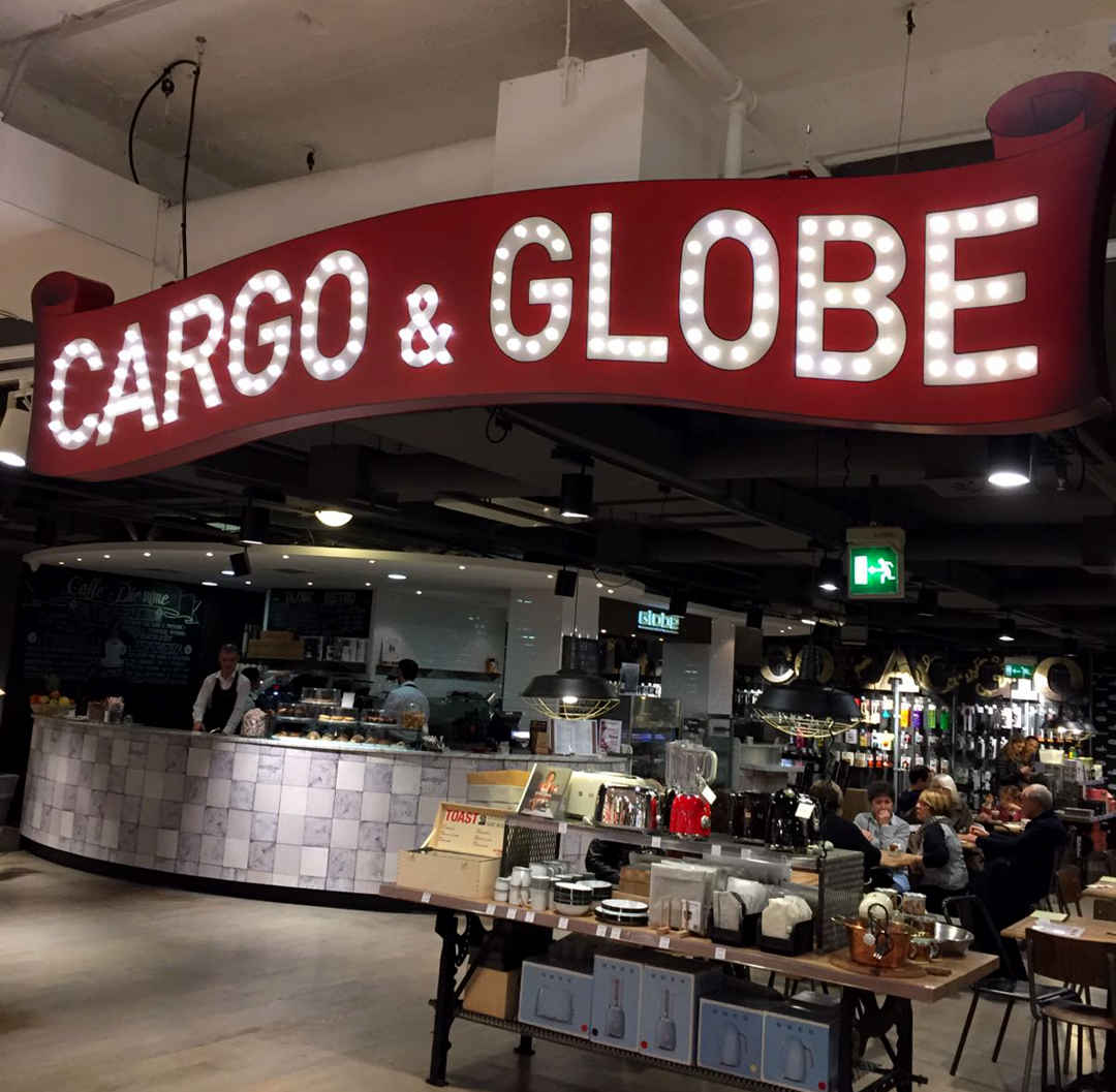 Insegne - Cargo and Globe