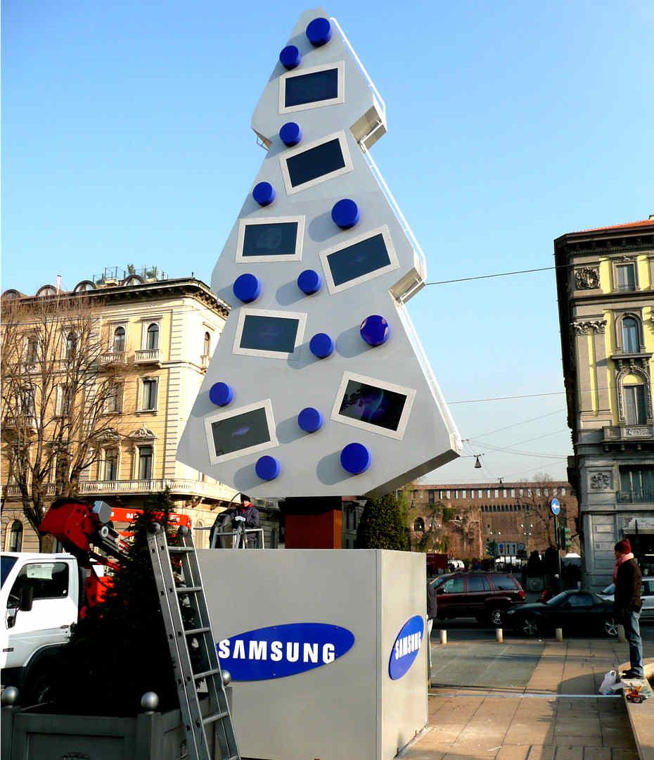 Insegne - Samsung totem 2