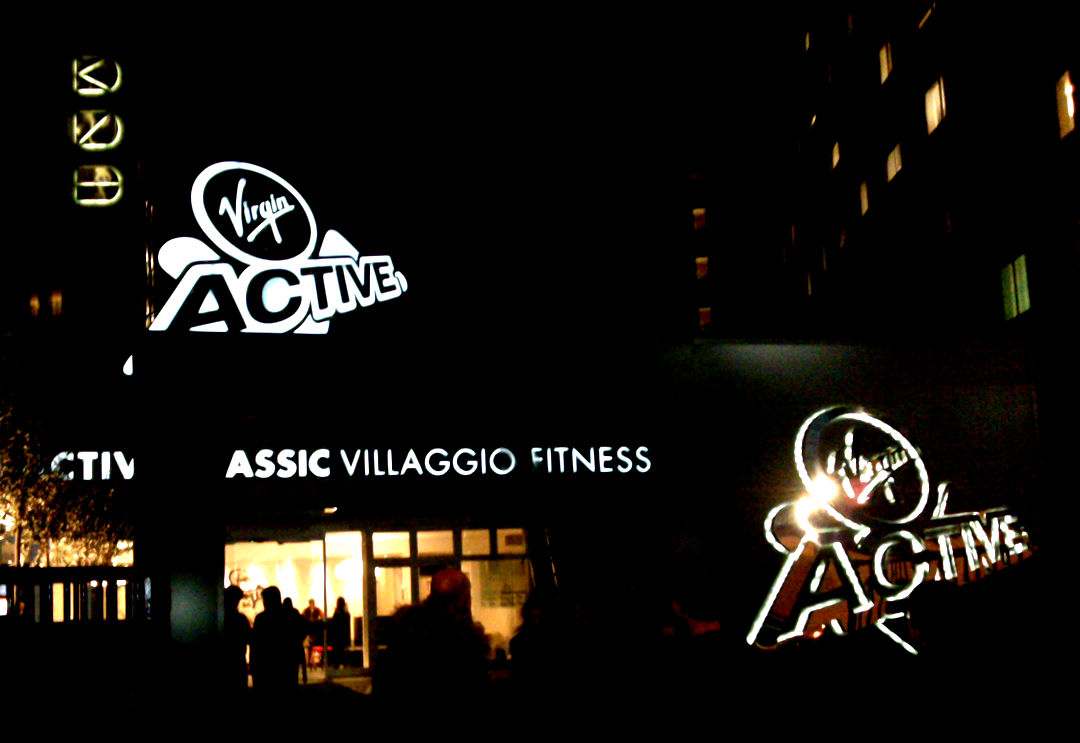 Insegne - Virgin Active