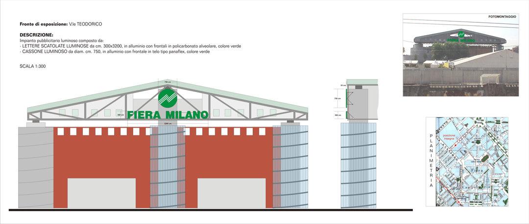 Insegne - progetti - Fiera Milano