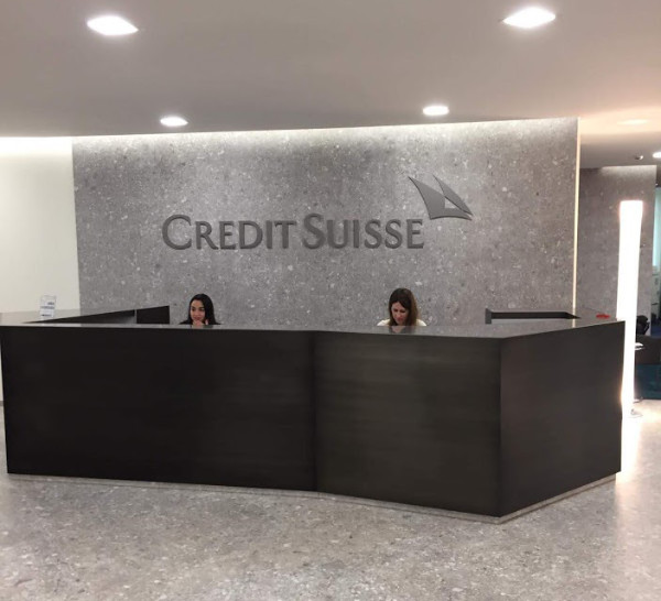 Light Signs - Lettere Scatolate - Credit Suisse 2