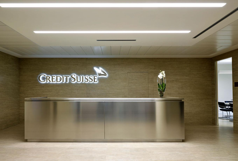 Credit suisse insegna interna