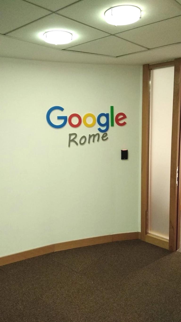 Insegna - Google Rome