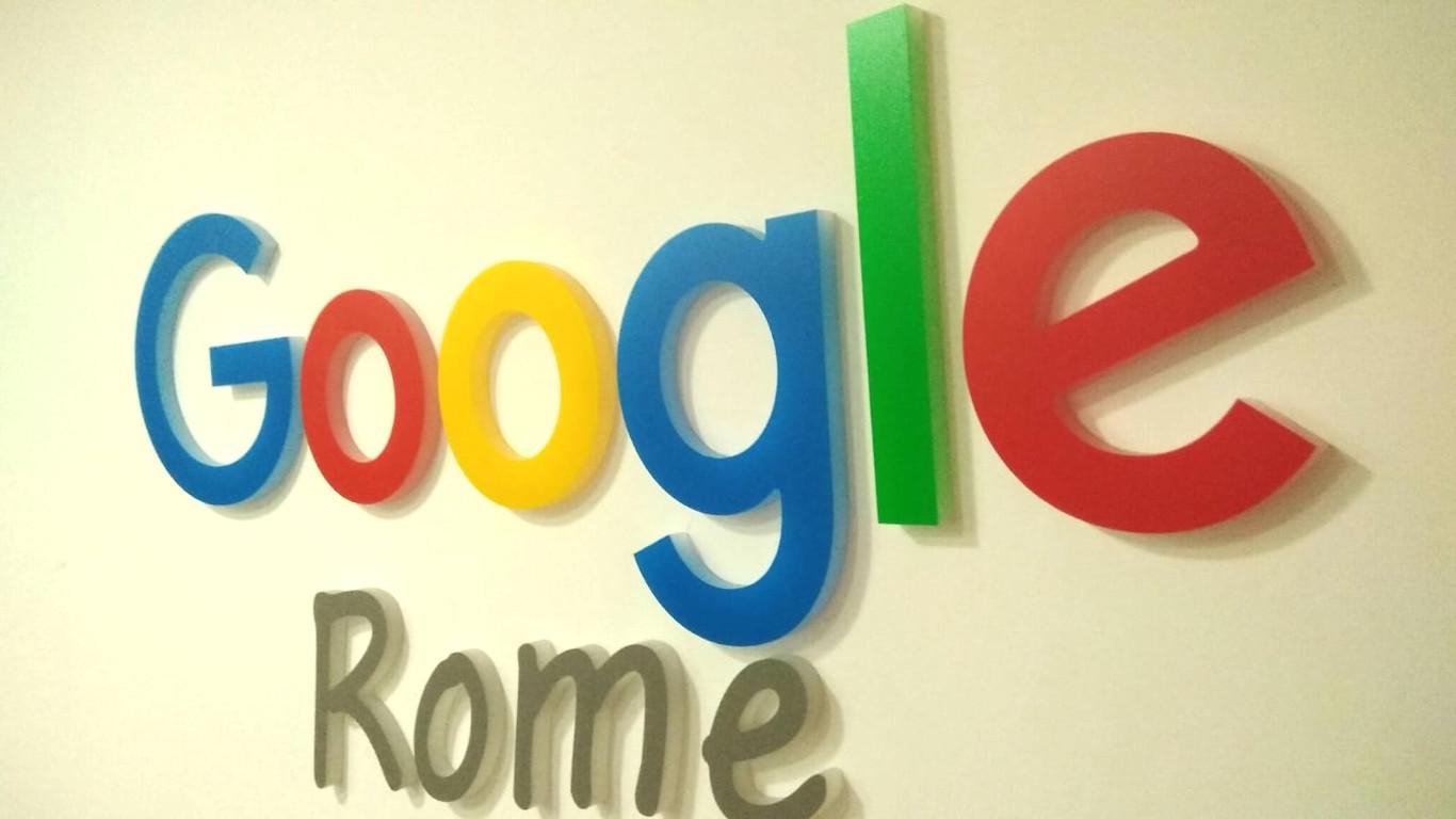 Insegna - Google Rome2