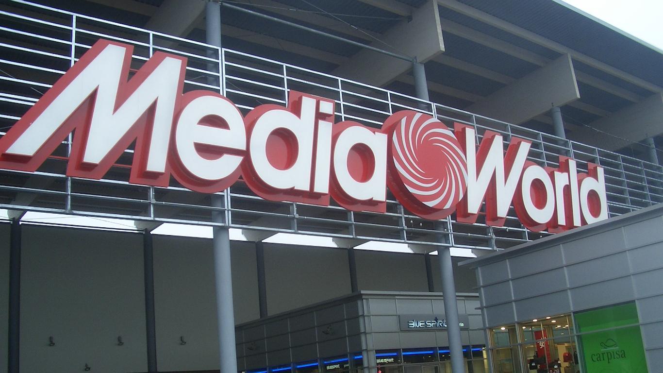 Mediaworld - insegna